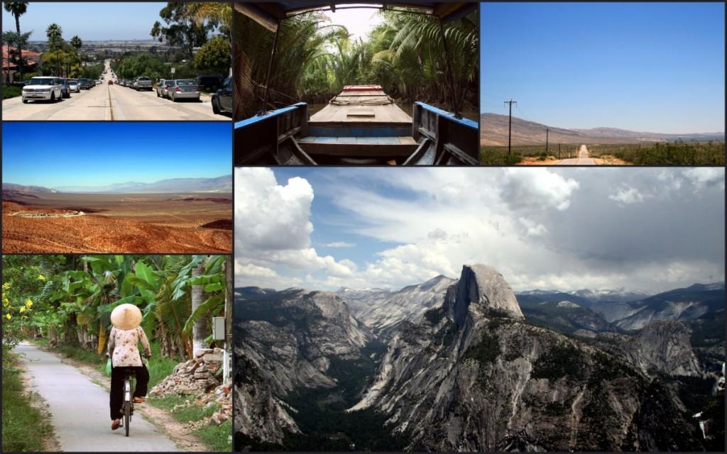 Ud i verden, collage